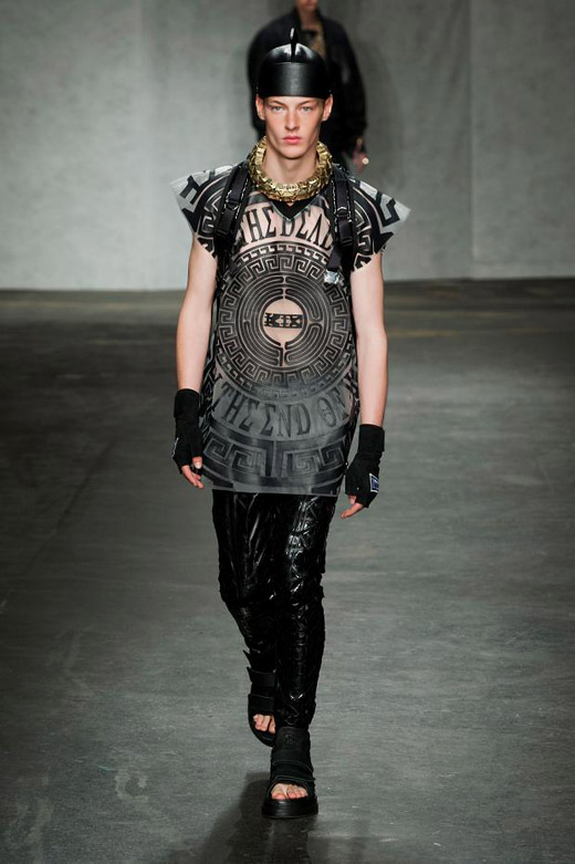 Men's fashion: KTZ Spring-Summer 2015 collection