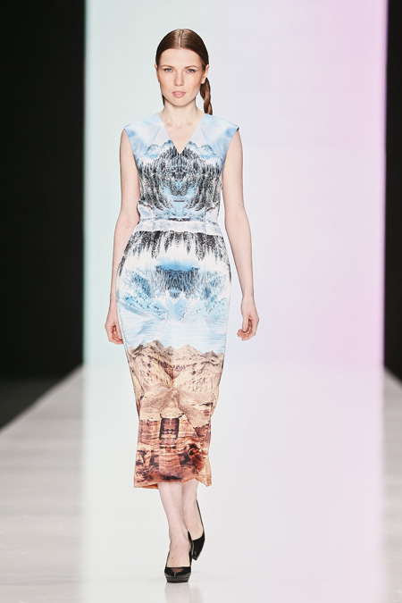 Kamila Kurbani presented Fall/Winter 2015-2016 at Mercedes-Benz Fashion Week Russia
