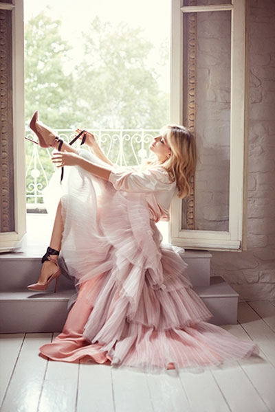 Kate Hudson in Autumn/Winter 2015 Jimmy Choo campaign