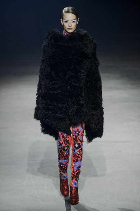 Kenzo Fall/Winter 2015 womenswear collection