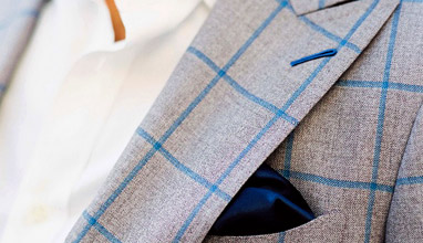 Custom-made men's suits for Spring-Summer 2015 by Knot Standard
