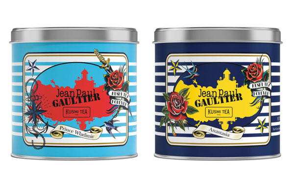 Тhe exclusive collection Kusmi Tea by Jean Paul Gaultier