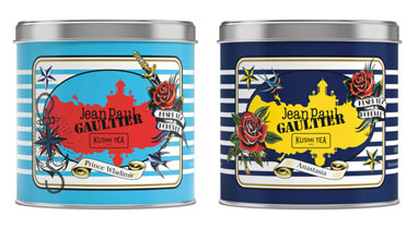 The exclusive collection Kusmi Tea by Jean Paul Gaultier