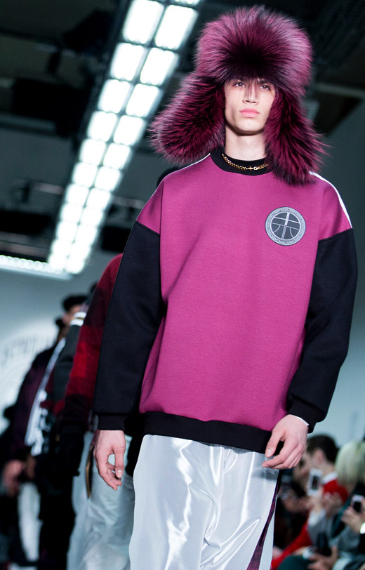 Astrid Andersen at London Collections: Men