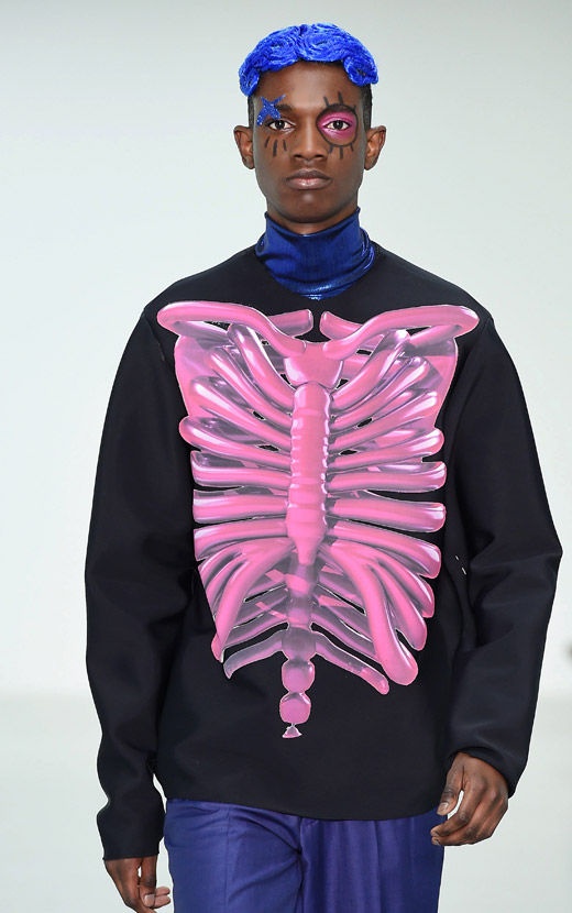 Katie Eary at London Collections: Men