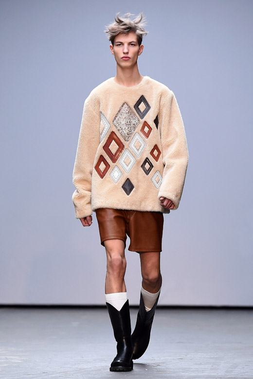 Xander Zhou at London Collections: Men