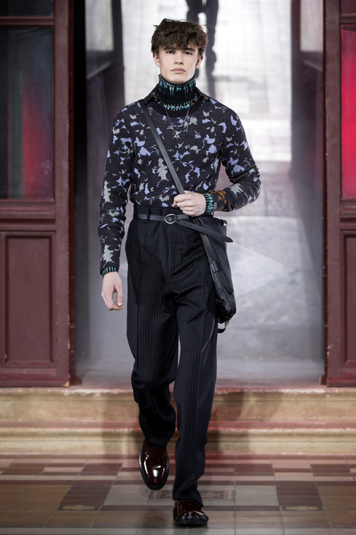 Lanvin Fall-Winter 2015/2016 menswear collection at PMFW