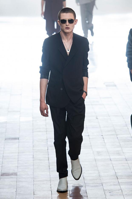 Lanvin Spring-Summer 2016 collection - Men at the party