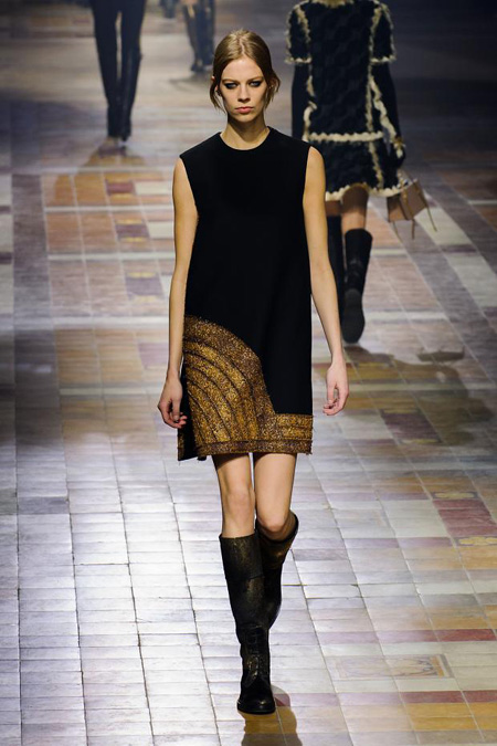Lanvin Winter 2015 women's collection