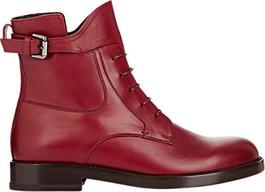 Wine red - the new shoes color