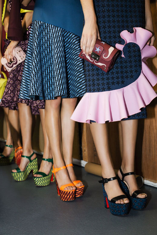 London Fashion Week gets love from Louboutin