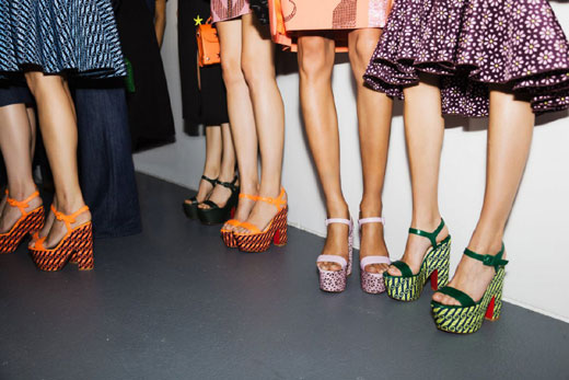 London Fashion Week gets love from Louboutin