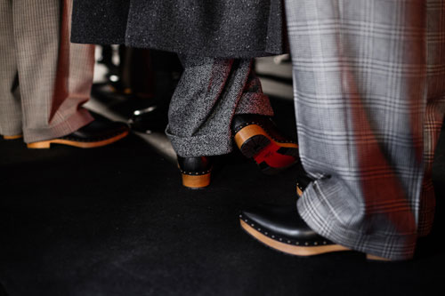 Christian Louboutin Debuts New Shoes at London Collections: Men