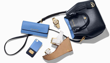 Must-haves in blue by Michael Kors