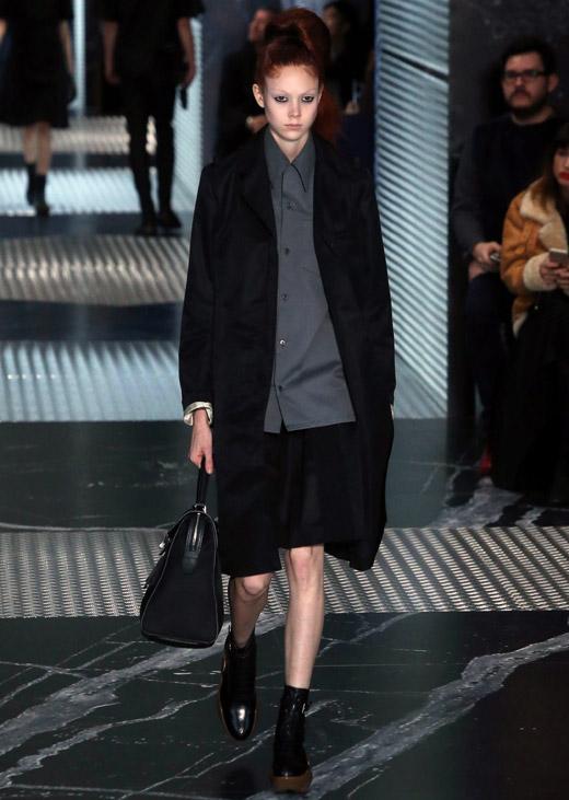 Prada Fall-Winter 2015/2016 collection at Milan men's fashion week