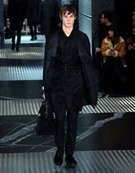 Prada Fall-Winter 2015/2016 collection at Milan men's fashion week