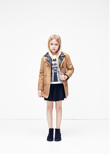 MANGO Kids changes direction in the Autumn/Winter 2015 season