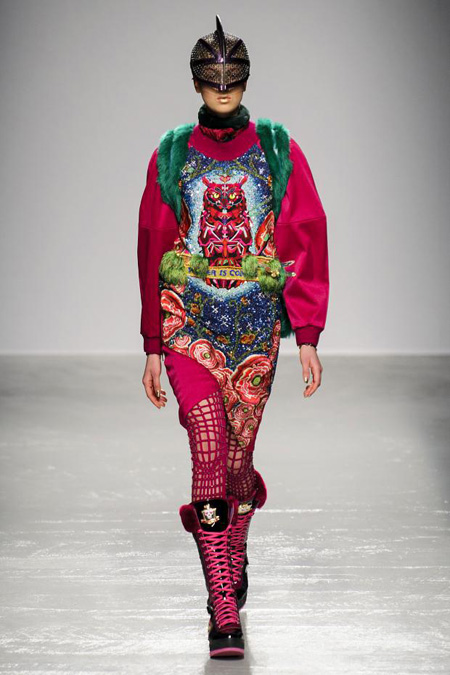 Manish Arora presented Fall/Winter 2015-2016 during Paris Fashion Week