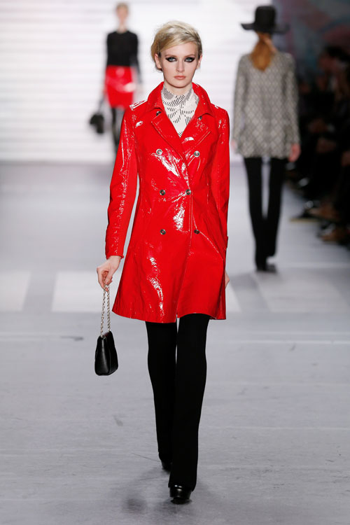 Marc Cain Presented Autumnwinter 2015 2016 During Mercedes Benz