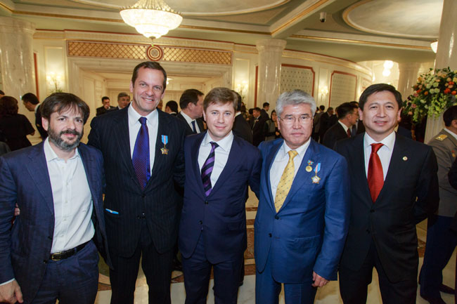Marco Balich awarded the highest recognition of Kazakhstan