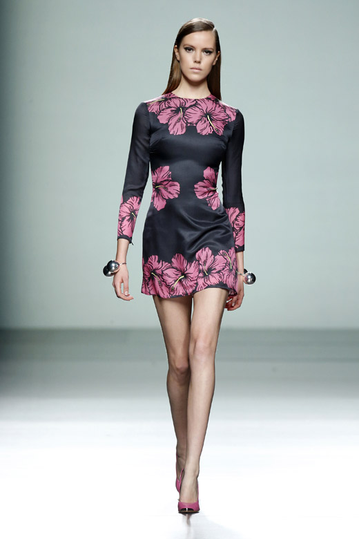 María Escoté Fall-Winter 2015/2016 collection at MBFW Madrid