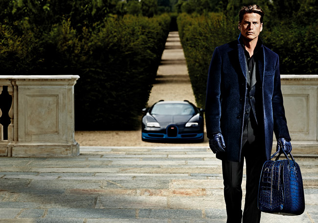 Mark Vanderloo in Ettore Bugatti Fall-Winter 2015/2016 campaign