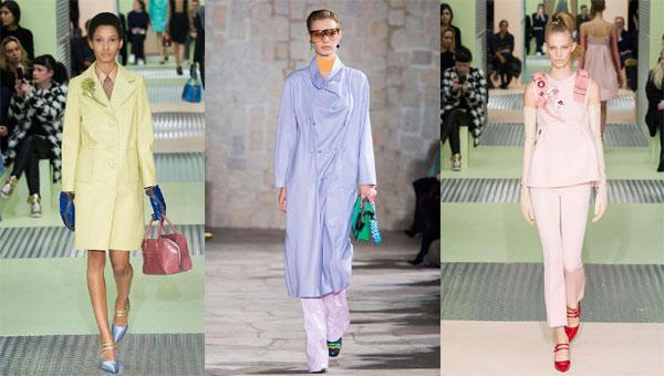 Модни тенденции Есен/Зима 2015-2016: Бонбонени цветове