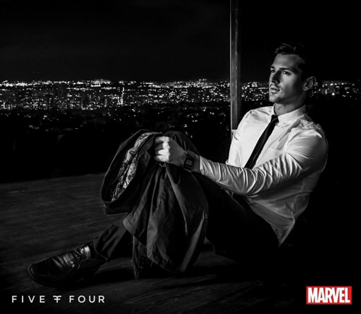Hero-inspired Men's fashion line by Marvel and Five Four Club