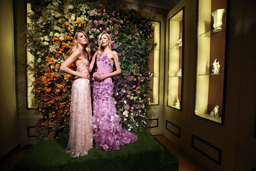 Meissen Couture presented the new Fall/Winter 2015/2016 collection in its Milan headquarter