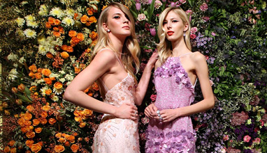 Meissen Couture presents the Fall/Winter 2015/2016 Collection 'AMONG THE WILDFLOWERS'