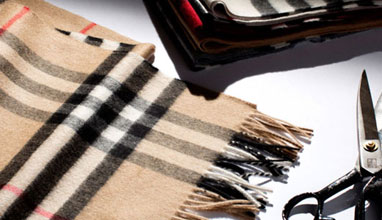 Men's scarves by Burberry