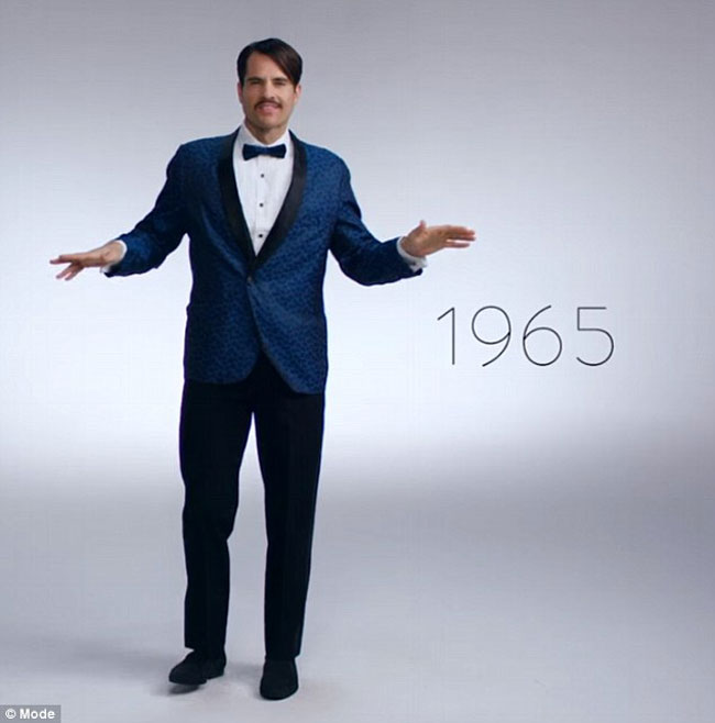 how much men s new year eve style has changed over 100 years