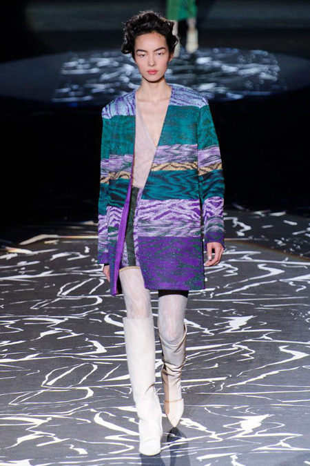 Womenswear: Missoni Fall/Winter 2015 collection