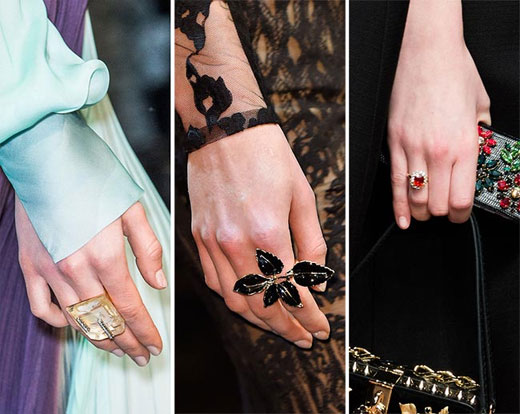 Autumn/Winter 2015-2016 Fashion Trends: Jewelry