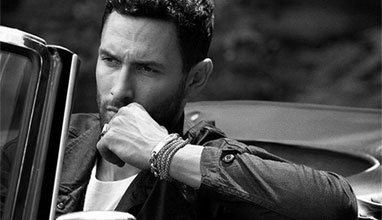 Noah Mills for David Yurman Fall Winter 2015 campaign