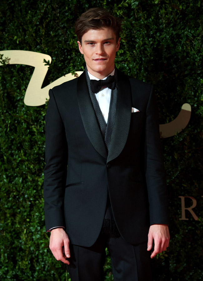 British model Oliver Cheshire among the nominees for the Most Stylish Man 2015 prize