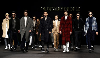 Seoul Fashion Week: Ordinary people Fall-Winter 2015/2016 collection