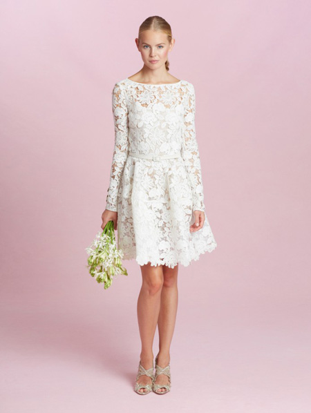 Oscar de la Renta Bridal Fall 2015 collection