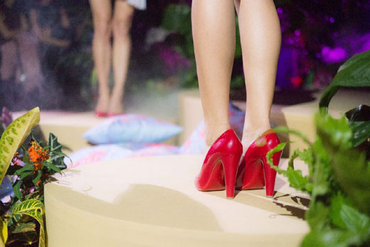 From Tokyo to the garden of Eden: Christian Louboutin at Paris Fashion Week