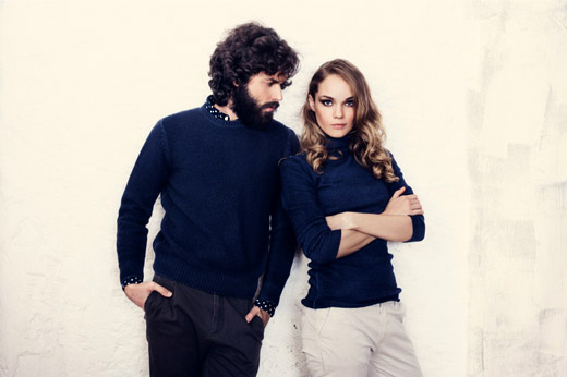 Panicale Cashmere Fall-Winter 2014/2015 knitwear collection