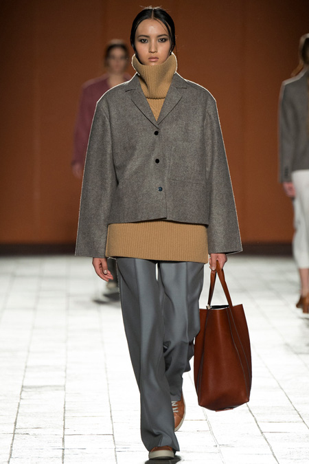 Fresh view of effortless but confident dressing in Paul Smith Fall/Winter 2015 during London Fashion Week