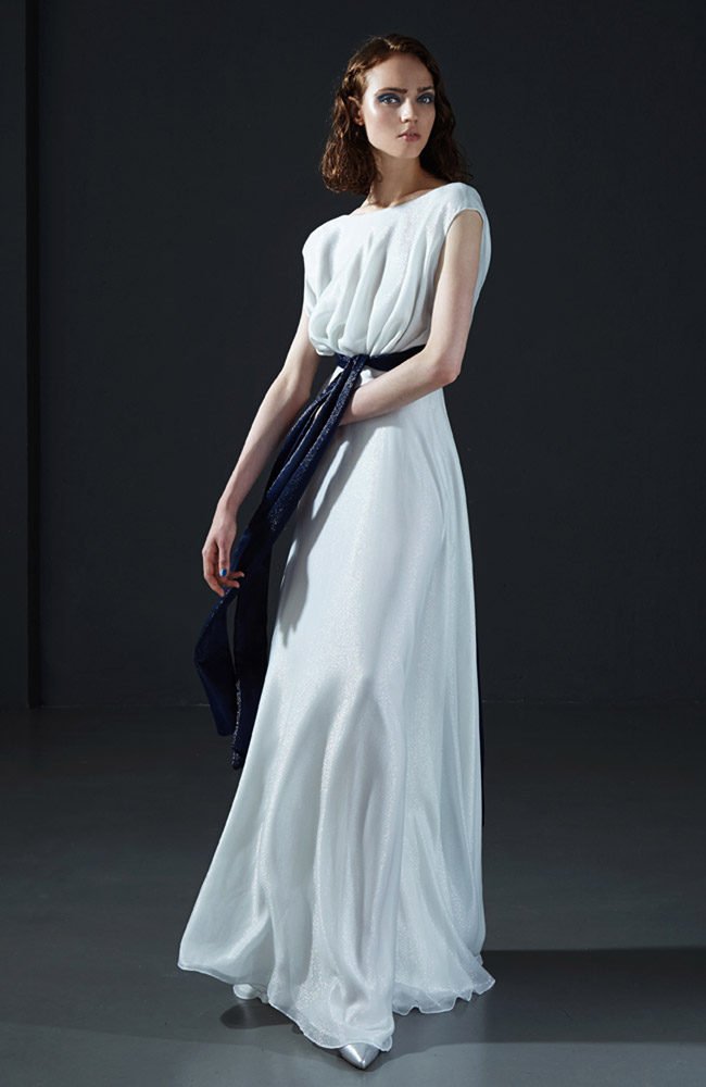 Evening haute couture collection Peter Langner Spring-Summer 2016