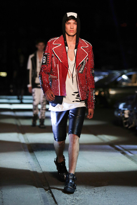 Philipp Plein Spring/Summer 2016 - inspired by the hip-rock
