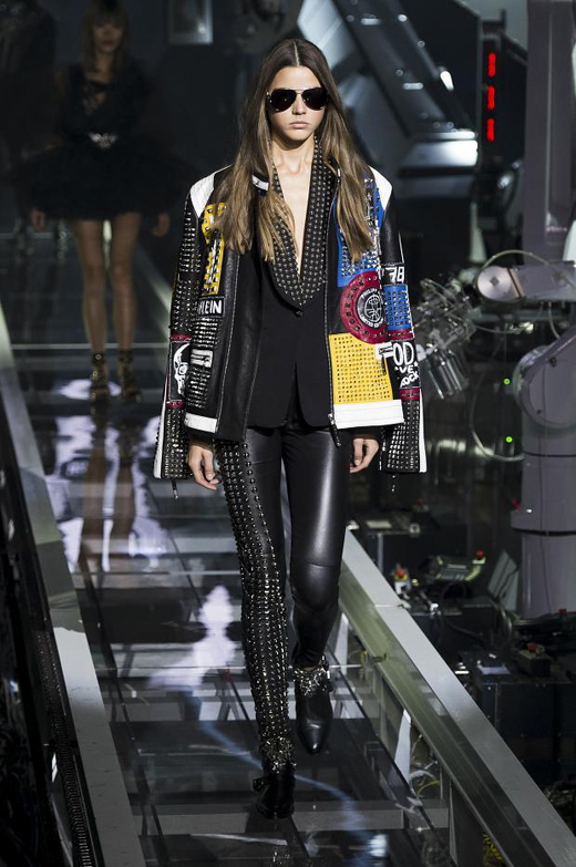 Philipp Plein Spring/Summer 2016 - inspired by the punk