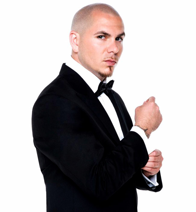 Celebrities' style: Pitbull