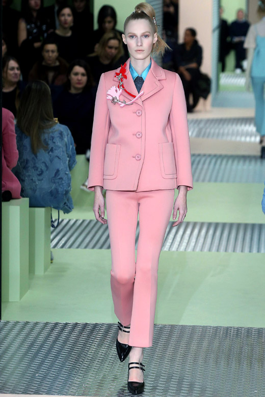 60s Are Back Prada Fall Winter 2015 2016 Women S Collection