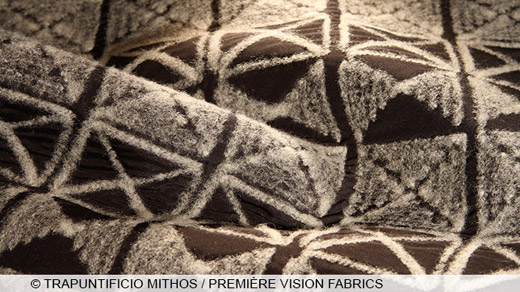 Fall-Winter 2016/2017 Coats fabrics trends presented at Première Vision Paris