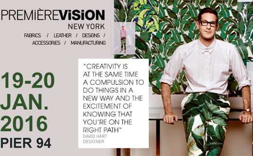 PREMIÈRE VISION NEW YORK: a significant increase and diversification of the offer