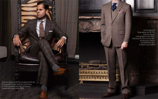 Q Clothier - quality suits from Texas