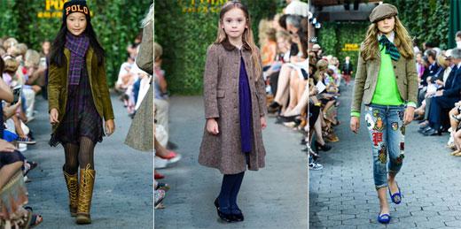 Ralph Lauren presented AUTUMN 2015 Kids collection